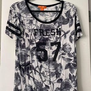 3/$15 Joe Fresh Floral T-Shirt